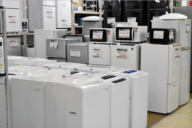 小型冷蔵庫・洗濯機