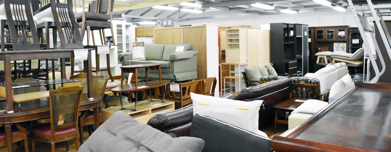 イースタイルの充実の家具コーナー